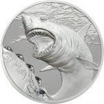 Palau - 2017 - 5 Dollars - Bitemarks The Shark