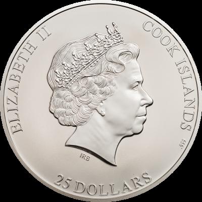 Cook Islands - 2017 - 25 dollars - 7 Summits EVEREST