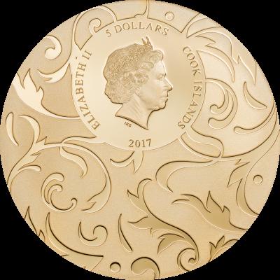Cook Islands - 2017 - 3x 5 Dollars - Beyond the World – Scarab Selection II
