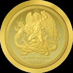 Isle of Man - 2017 - 1/64 Angel small gold