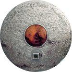 Cook Islands - 2017 - 20 Dollars - Meteorite MARS the Red Planet
