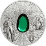 Cook Islands - 2017 - 10 Dollars - Famous Diamonds DRESDEN GREEN DIAMOND