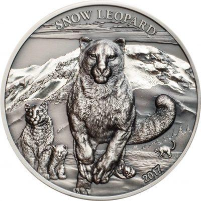 Mongolia - 500 Togrog - Snow Leopard