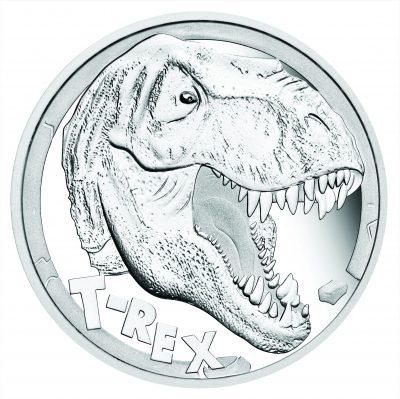 Tuvalu - 2017 - 5 Dollars - Tyrannosaurus Rex