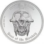 Palau - 2016 - 3x 5 Dollars - Lunar Skulls: Year of the Monkey SET (1 PRF + 2 BU)