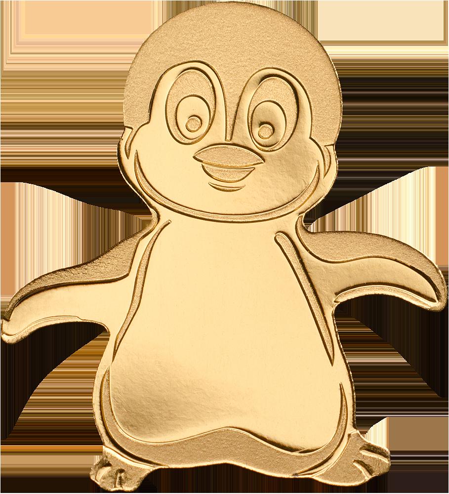 Palau - 2018 - 1 Dollar - Little Emperor Penguin