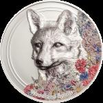 Mongolia - 2018 - 500 Togrog - Woodland Spirits Fox
