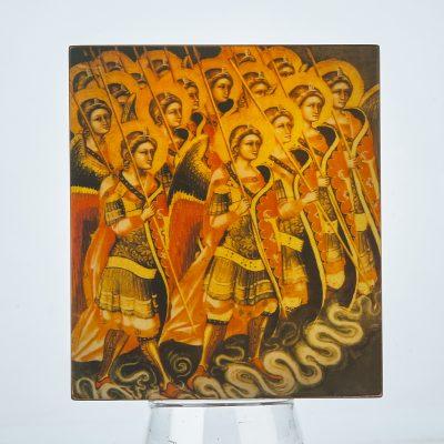 Niue - 2017 - 5 Dollars - The Choir of Angels - Gabriel