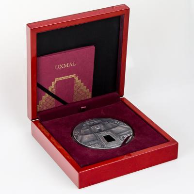 Fiji - 2017 - 100 Dollars - Masterpieces in Stone UXMAL kilo edition
