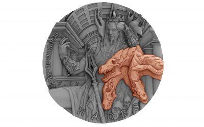 Niue - 2018 - 5 Dollars - Gods of Olympus HADES