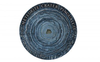 Niue - 2018 - 2 Dollars - Pingualuit Meteorite Crater