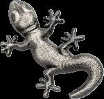 Palau - 2018 - 10 Dollars - Gecko 3D Shape