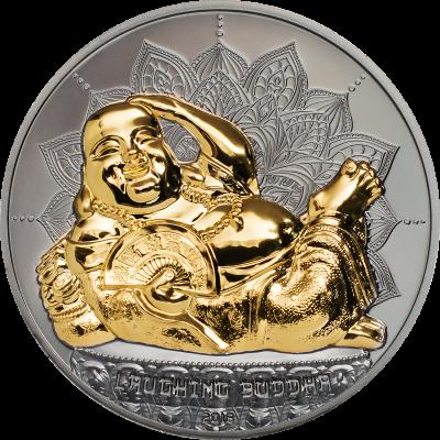 Palau - 2018 - 10 Dollars - Laughing Buddha II