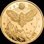 Tanzania - 2018 - 1500 Shillings - Golden Death's Head Hawkmoth