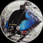 Cook Islands - 2018 - 10 Dollars - Mallard Train