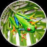 Cook Islands - 2018 - 5 Dollars - Magnificent Life TREE FROG