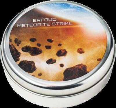 Cook Islands - 2018 - 2 Dollars - Erfoud Meteorite NWA 6827