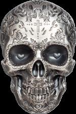 Palau - 2018 - 5 Dollars - La Catrina Skull