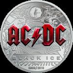 Cook Islands - 2018 - 10 Dollars - AC/DC Black Ice