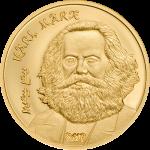 Mongolia - 2019 - 1000 Togrog - Karl Marx (small gold)