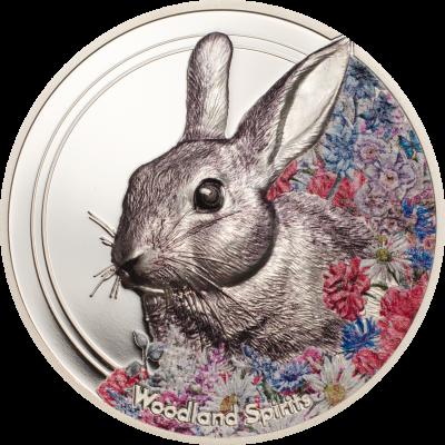 Mongolia - 2019 - 500 Togrog - Woodland Spirits Rabbit