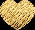 Palau - 2019 - 1 Dollar - Little Treasure Heart small gold