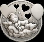 Cook Islands - 2019 - 5 Dollars - Lullaby Little Princess
