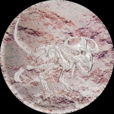 Mongolia - 2019 - 2000 Togrog - Protoceratops Andrewsi Dinosaur