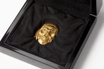 Palau - 2018 - 200 Dollars - Pirate Skull – Blackbeard Gold Edition
