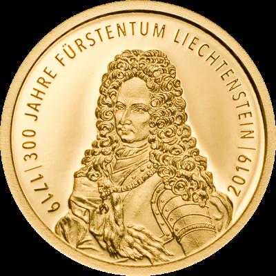 Liechtenstein - 2019 - 10 Franken - 300 Year Liechtenstein SMALL GOLD