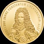 Liechtenstein - 2019 - 25 Franken - 300 Year Liechtenstein GOLD
