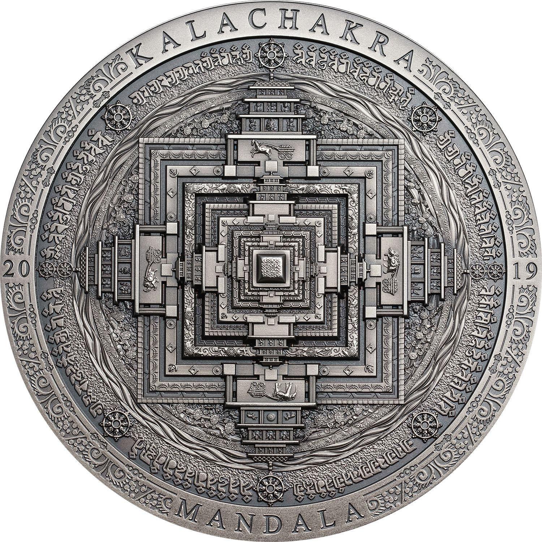 Mongolia - 2019 - 2000 Togrog - Kalachakra Mandala / Archeology & Symbolism Series