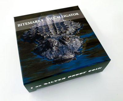 Palau - 2018 - 5 Dollars - Bitemarks The Alligator