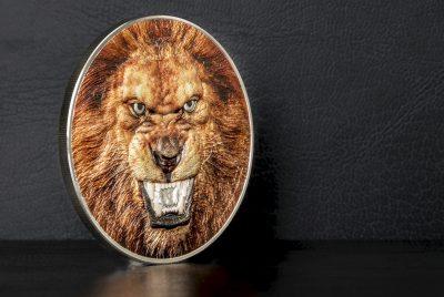 Tanzania - 2018 - 1500 Shillings - Rare Wildlife PANTERA LEO LION