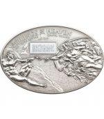 Cook Islands - 2012 - 5 dollars - Sistine Chapel NANO