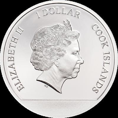 Cook Islands - 2019 - 1 Dollar - Winter Wonderland Globe