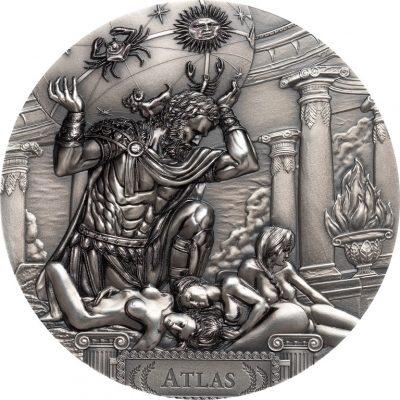 Cook Islands - 2019 - 20 Dollars - Titans ATLAS