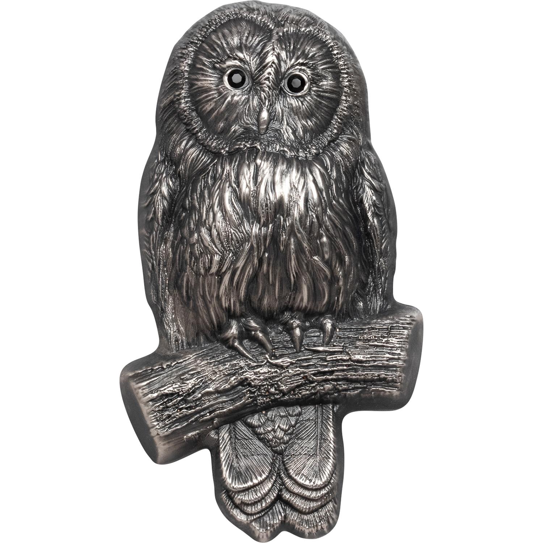 Mongolia - 2019 - 1000 Tugrik - Wildlife Ural Owl 3D