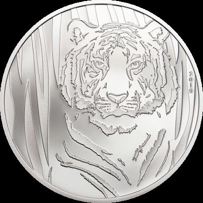 Mongolia - 2019 - 250 Togrog - Hidden Tiger