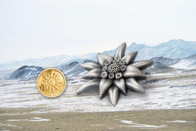 Mongolia - 2019 - 500 Togrog - Edelweiss – Mountain Star