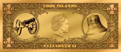 Cook Islands - 2019 - 2 Dollars - AC/DC Angus Buck