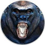 Tanzania - 2019 - 1500 Shillings - Rare Wildlife GORILLA