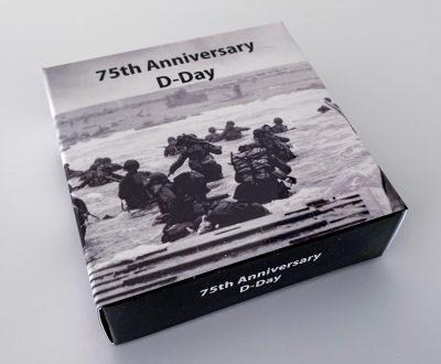 Tanzania - 2019 - 2x 500 Shilling - D-Day 75th Anniversary