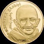 Mongolia - 2020 - 1000 Togrog - Mahatma Gandhi (small gold)