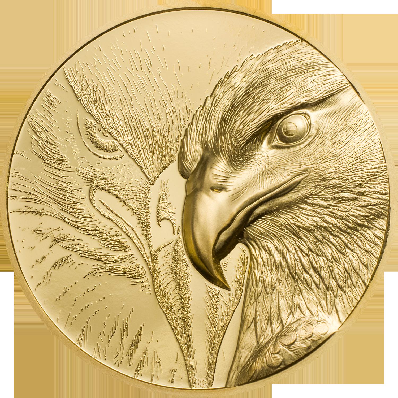 Mongolia - 2020 - 25000 Togrog - Majestic Eagle Gold 1 oz