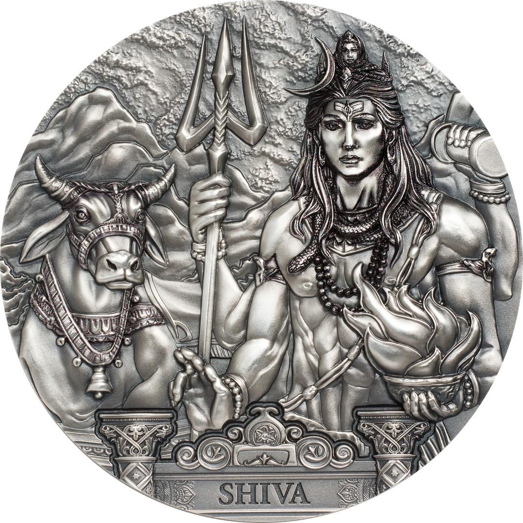 Cook Islands - 2020 - 20 Dollars - Gods Of The World SHIVA