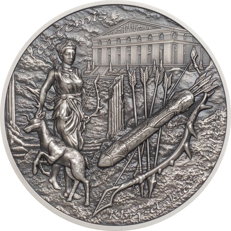 Cook Islands - 2020 - 10 Dollars - Bow & Arrow of Artemis