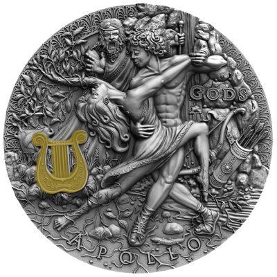 Niue - 2020 - 5 Dollars - Greek God Apollo