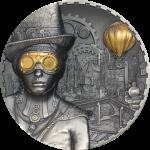Cook Islands - 2020 - 20 Dollars - Steampunk