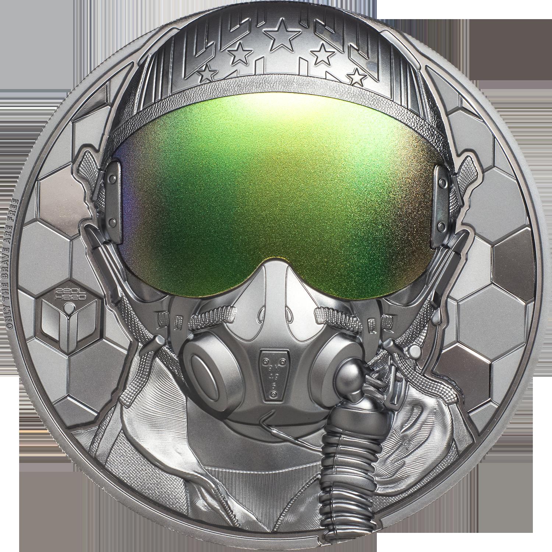 Cook Islands - 2020 - 20 Dollars - Fighter Pilot – Real Heroes